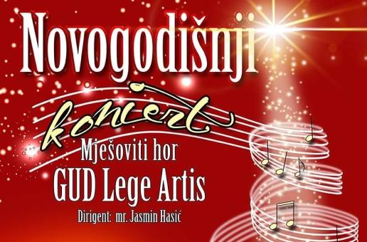 GUD LEGE ARTIS, Tuzla – Novogodišnji koncert