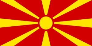Makedonija - zastava