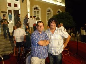 Ž.M. (autor) i Dragoljub Đuričić, bubnjar grupe Veritas