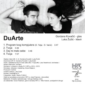 DuArte - CD EP back
