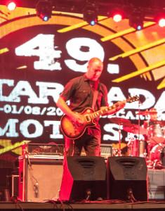 Sinovi (Davorin Đuranović) na stageu 49. Gitarijade Zaječar (Foto: Dragutin Matošević)