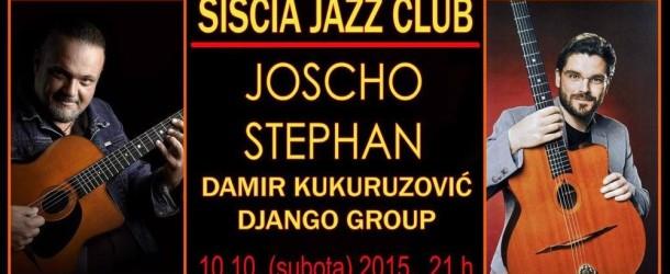 Damir Kukuruzović & Joscho Stephan – Nastup u Sisku (najava)