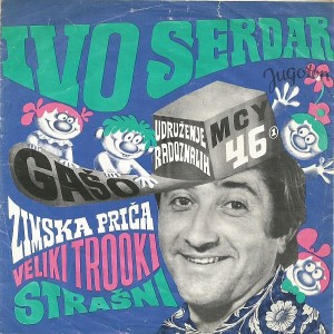 ex YU - Ivo Serdar