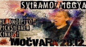 KLUB MOČVARA, ZAGREB – Sviramo za Iggyja (Najava)