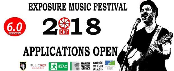 EXPOSURE MUSIC FESTIVAL 2018 – Natječaj