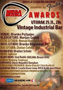 Mega Muzika Awards 2014