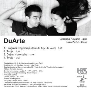DuArte - CD EP back
