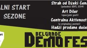 3. BELGRADE DEMO FEST LIVE – Zagrevanje pred početak