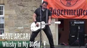 DAVE ARCARI & The Hellsinki Hellraisers – Whiskey in my blood