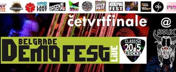 3. BDFL – Četvrtfinale, Subota, 5. veče