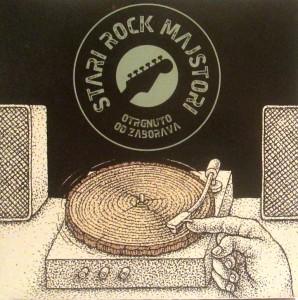Stari rock majstori - Omot