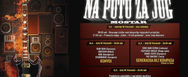 """3. GITARIJADA """"NA PUTU ZA JUG"""", MOSTAR, BiH – Kompletan program"""