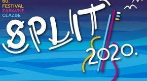 FESTIVAL ZABAVNE GLAZBE – SPLIT 2020